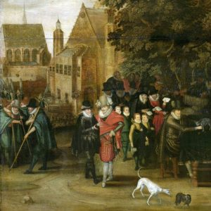 Satirische voorstelling op de Hollandse politiek omstreeks 1619 Rijksmuseum
