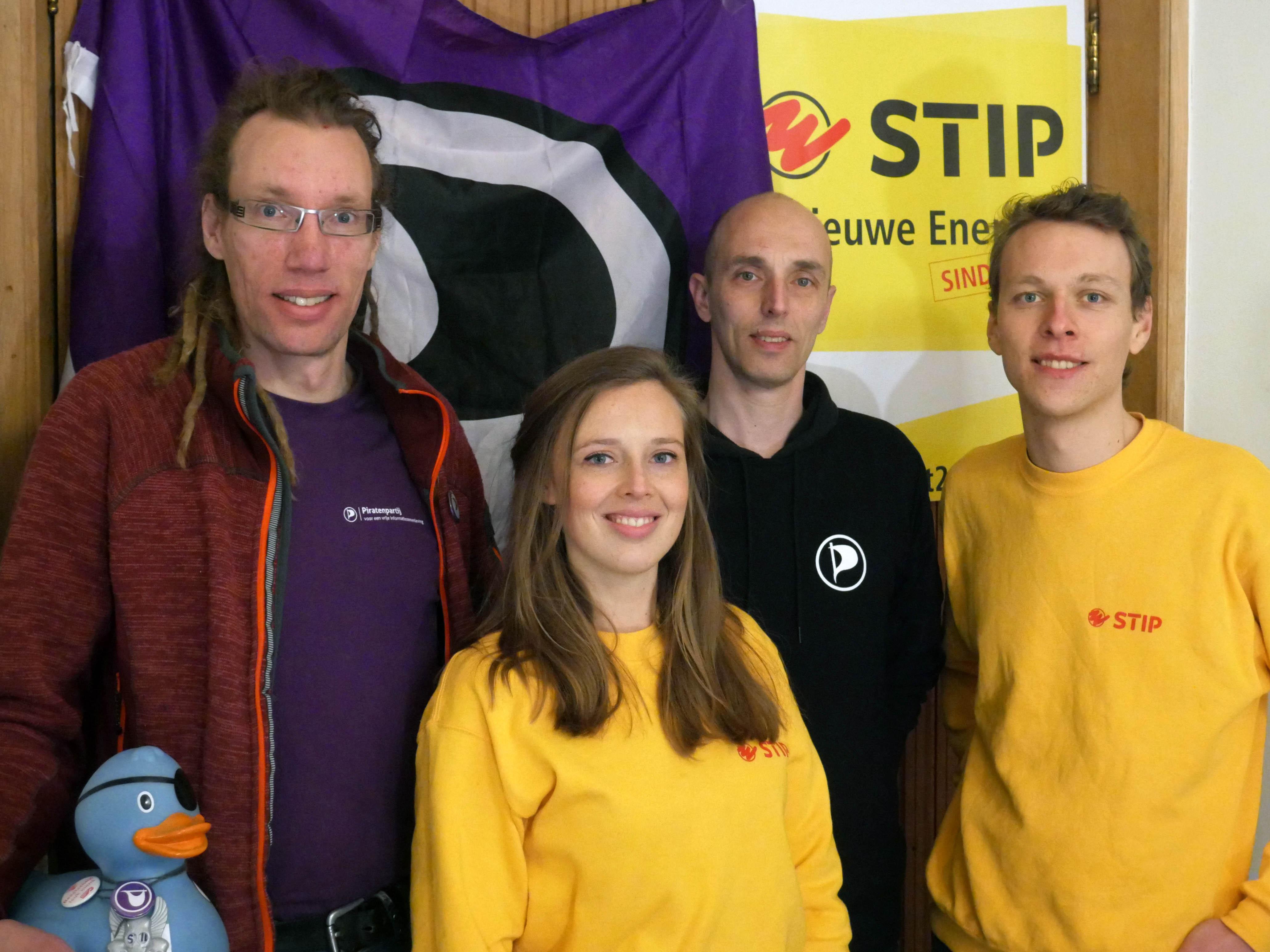 STIP en Piratenpartij Delft varen gezamenlijke koers