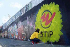 Stip Delft graffiti
