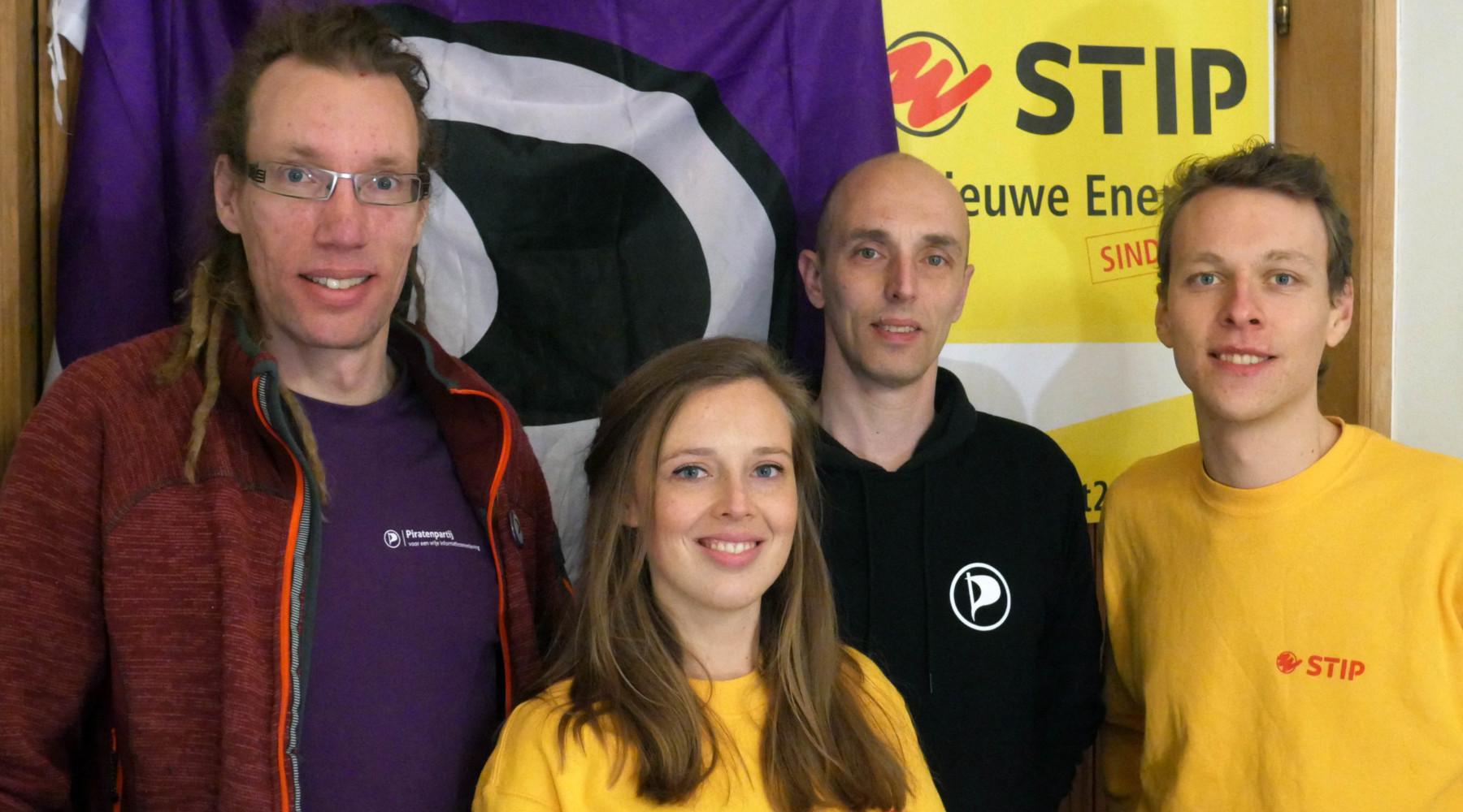 Piratenpartij Delft Stip samenwerking